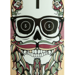 Feed Me - Skateboard Deck - Handbrake Design Perth