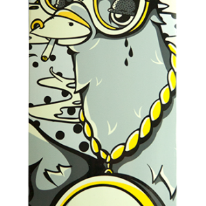 Ghetto Pigeon - Skateboard Deck - Handbrake Design Perth