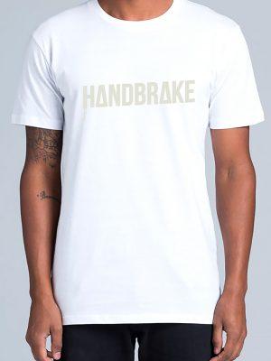 HB Logo White Tee