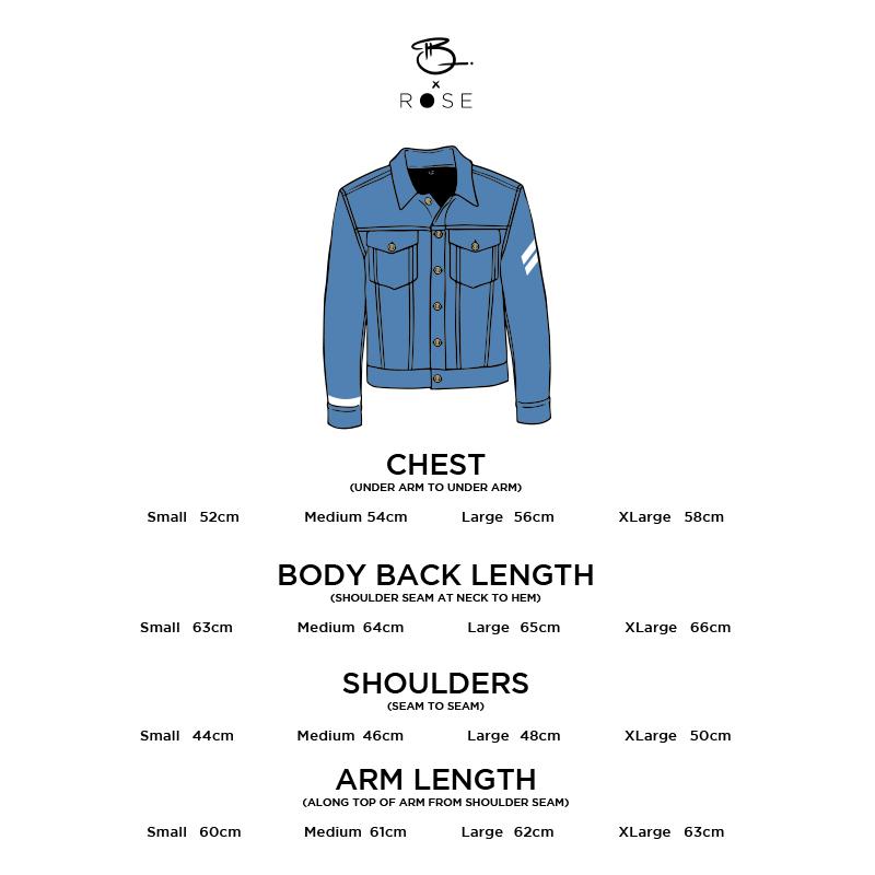 Vector Cartoon Classic Denim Jacket