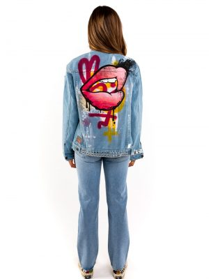 Hotlips Denim Jacket