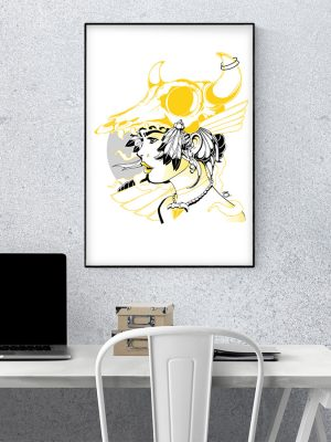 Watch the Wind Artwork Print